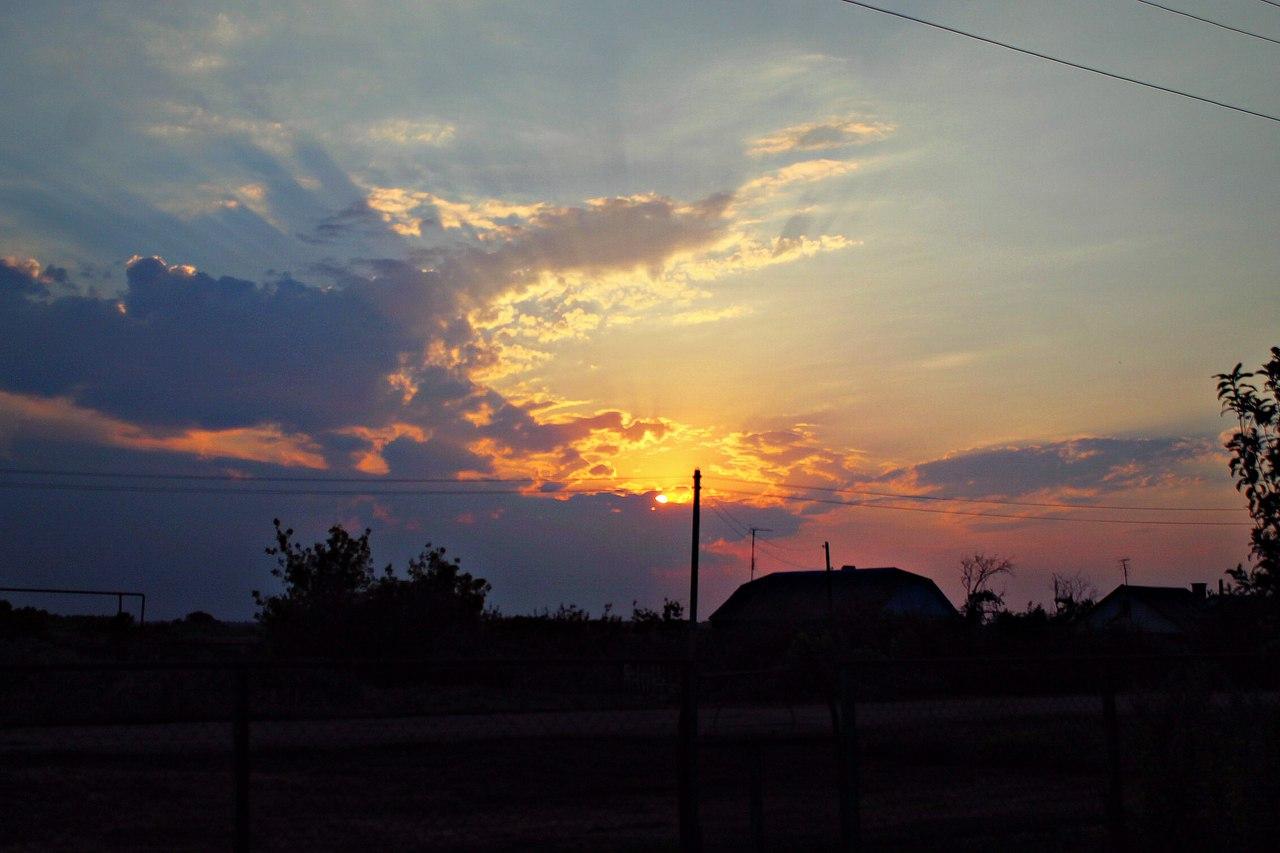 Необыкновенная Красота родного края!. Блиц: облака