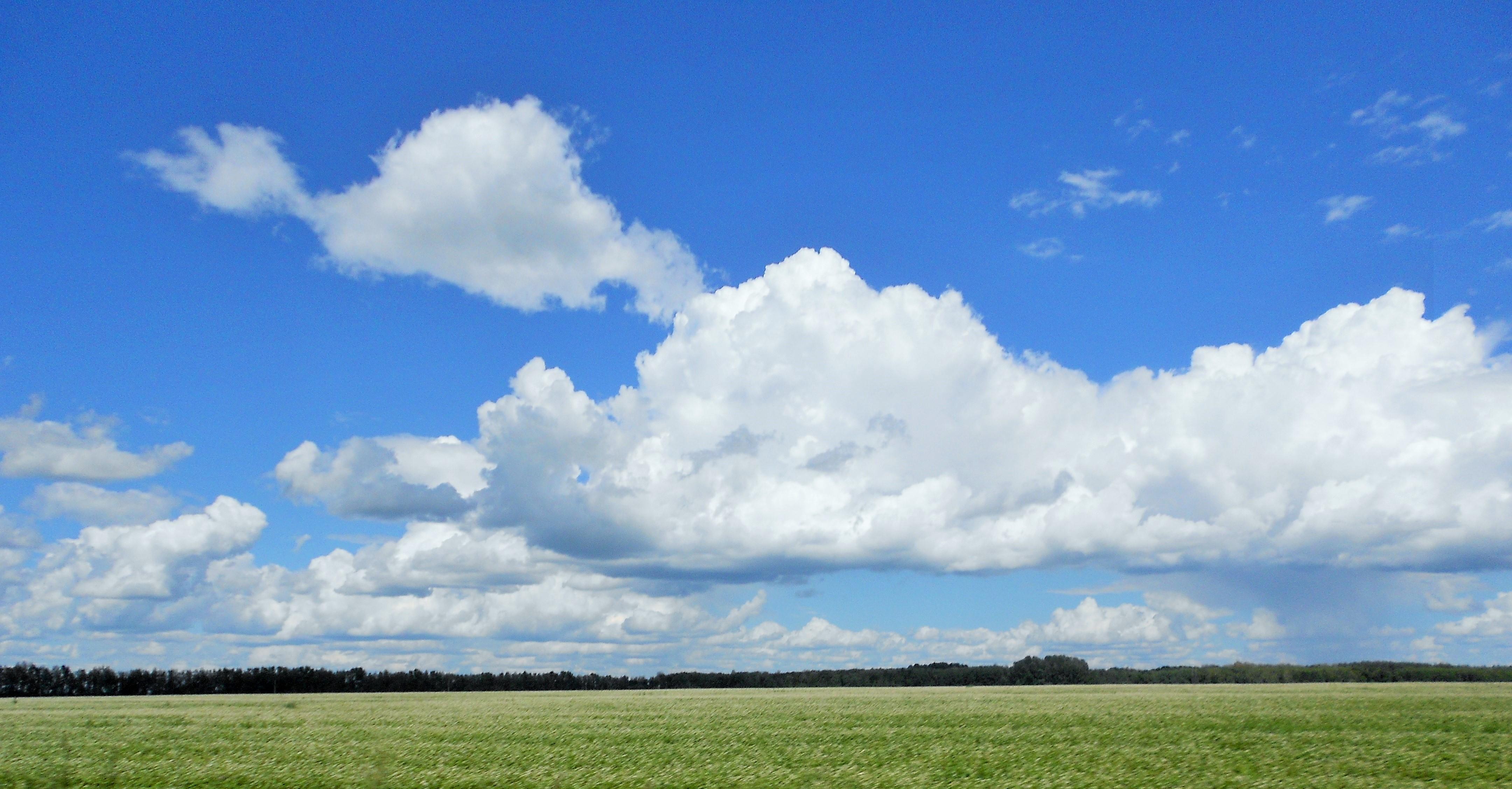 'Лениво и тяжко плывут облака...'. Блиц: облака