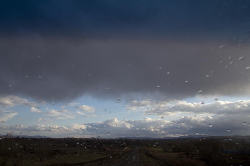 По дороге через дождь. Блиц: облака