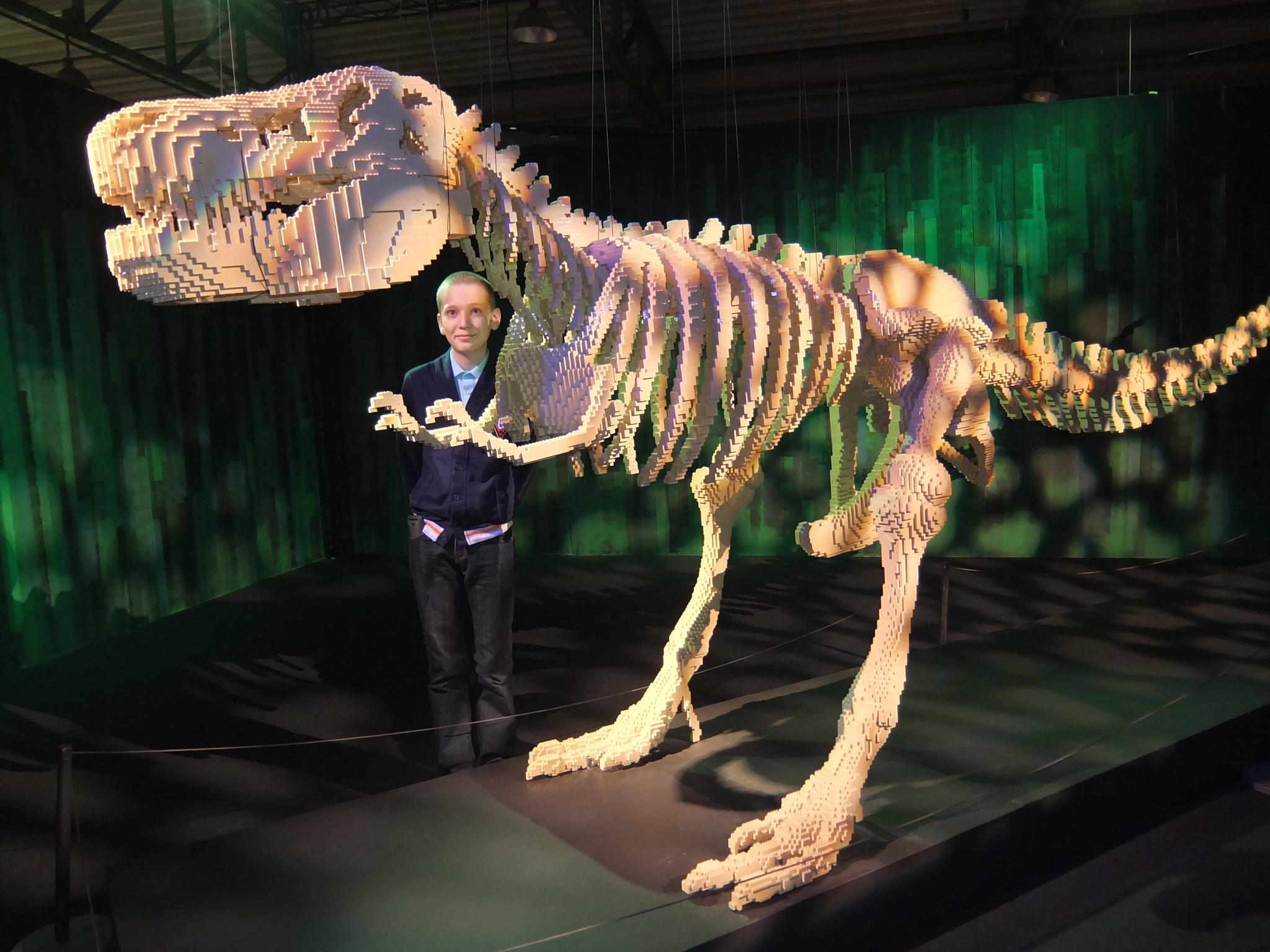 Лего-динозавр. Любимые динозавры