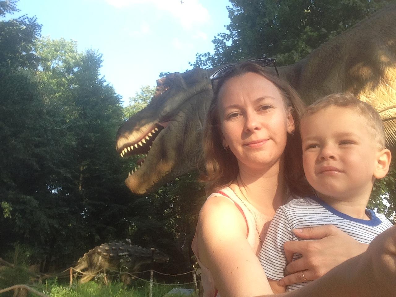 Ого динозаврище!. Любимые динозавры