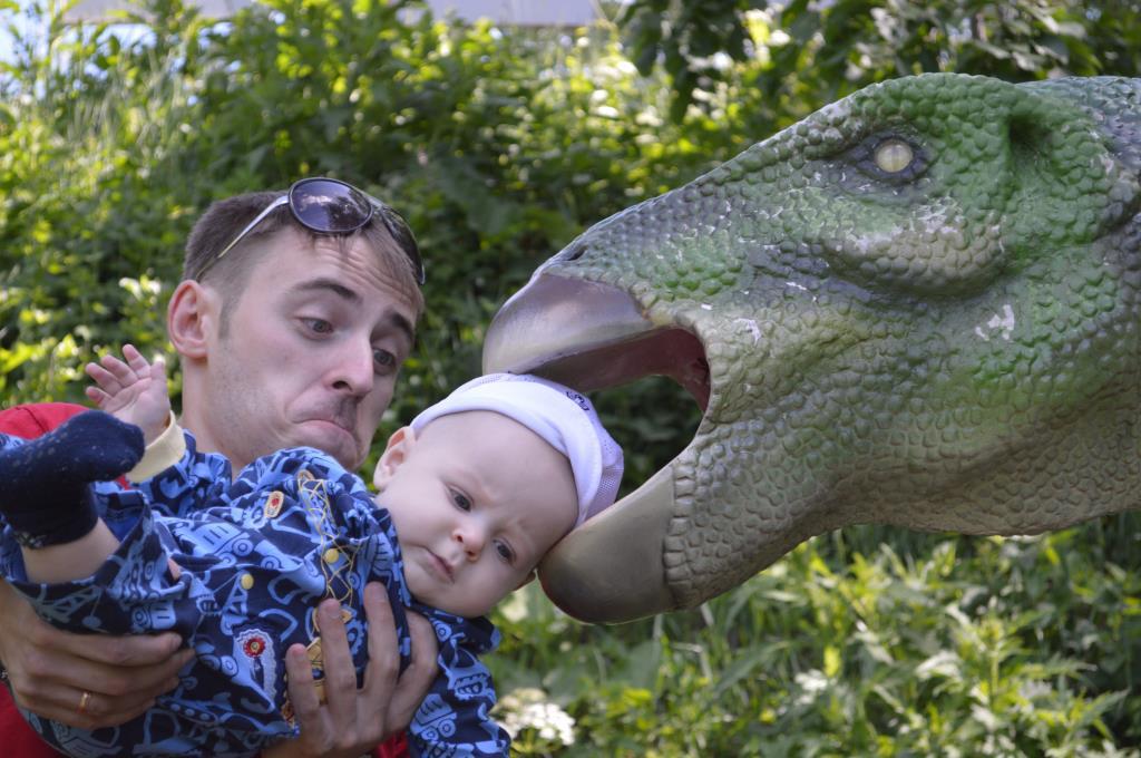 сдинозавром. Любимые динозавры