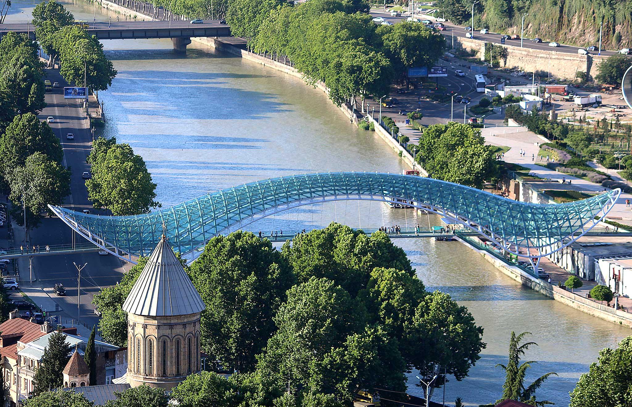 Мост мира. Тбилиси.. Блиц: мосты