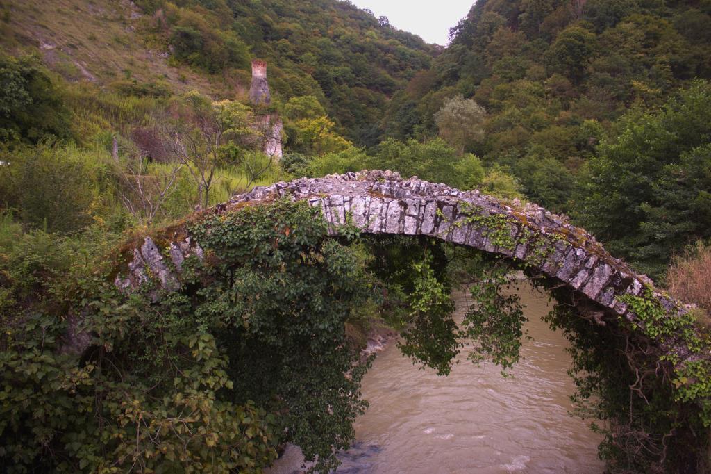 Беслетский мост Абхазия. Блиц: мосты