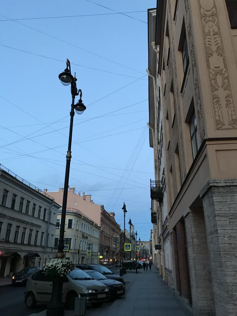 Санкт-Петербург, белые ночи , июнь, 2017.