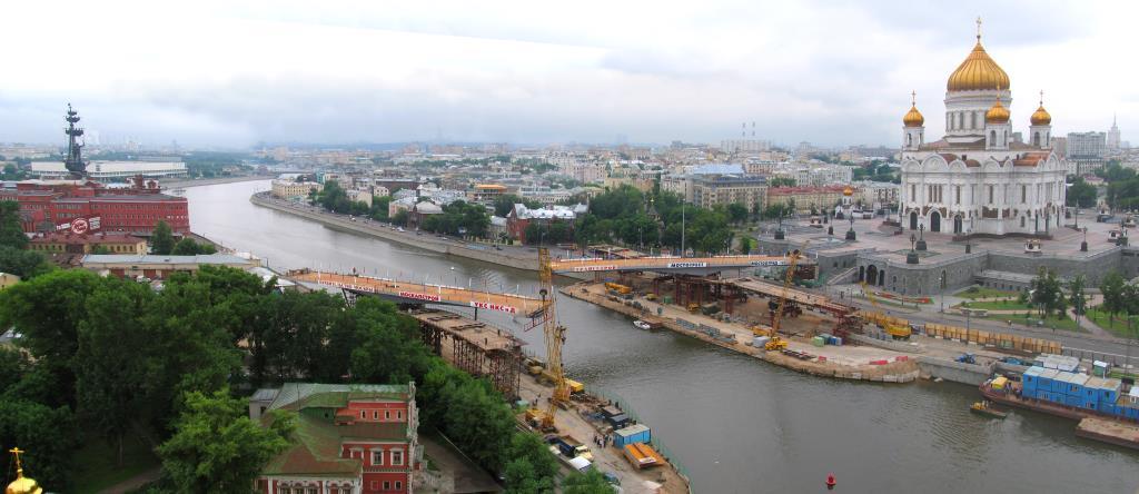 Рождение Патриаршего моста. Блиц: мосты