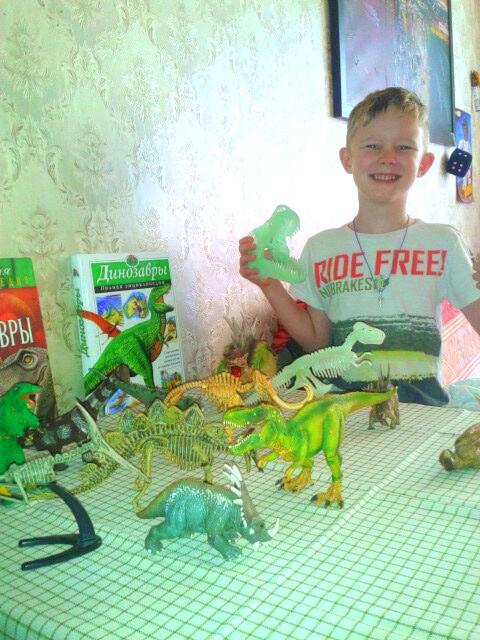 Мое хобби- моя будуящая пофессия!!!))). Любимые динозавры