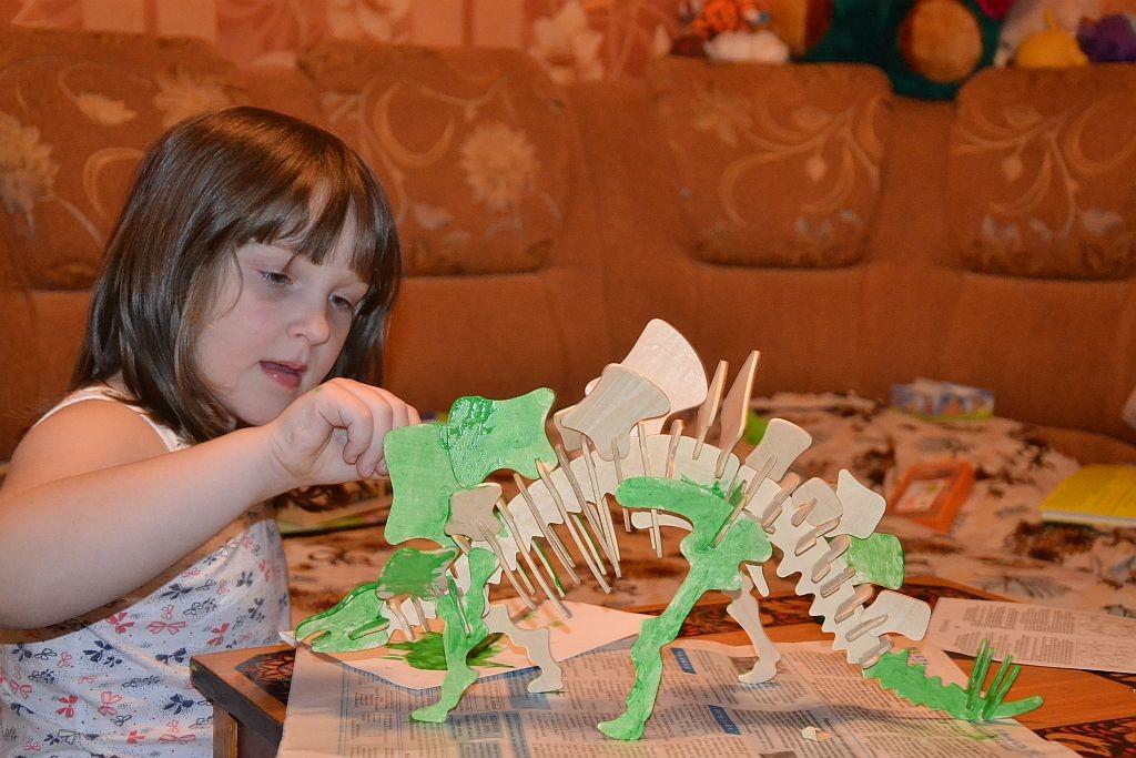 Наш стегозавр. Любимые динозавры