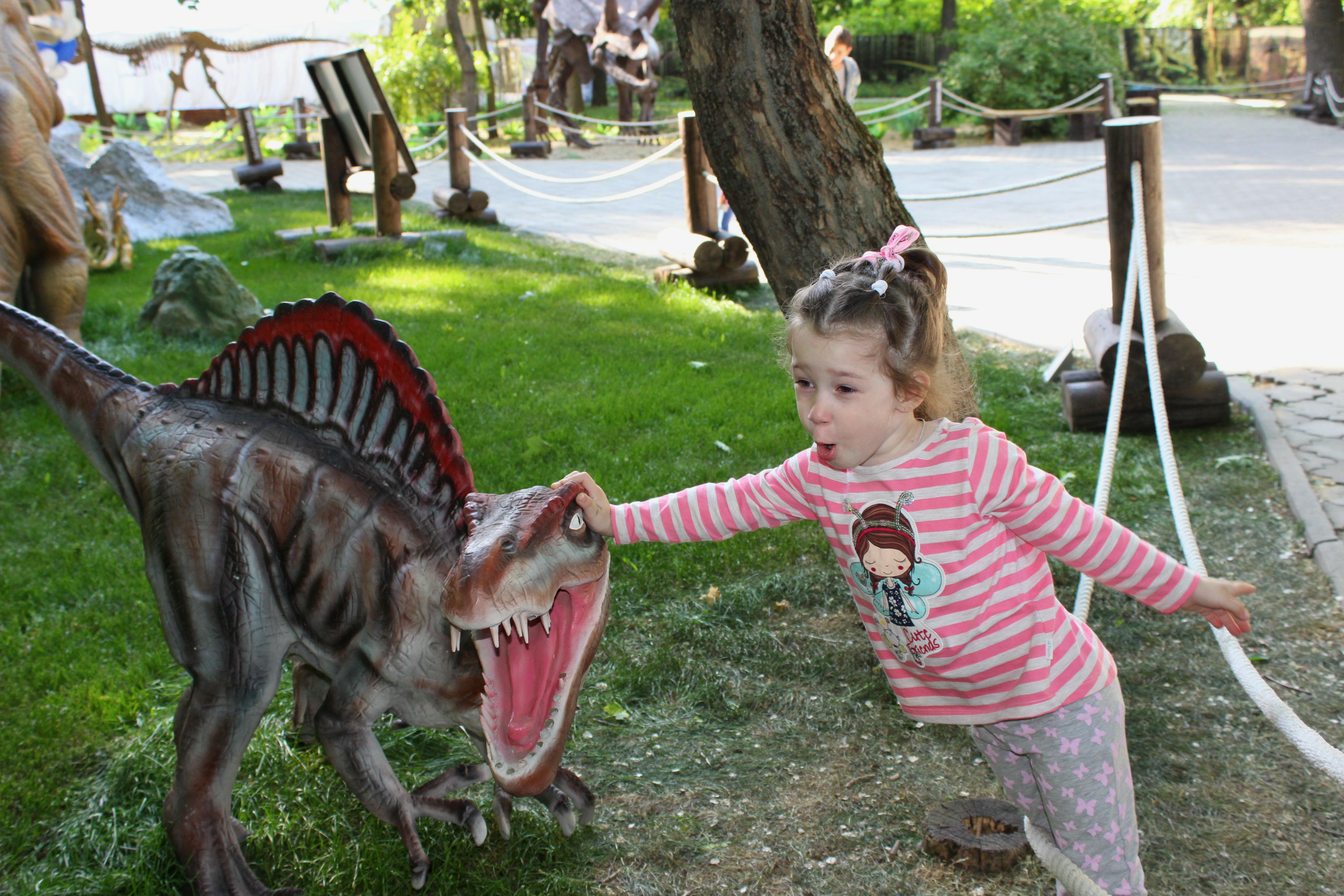 Страшно? Не кричи на меня ! . Любимые динозавры