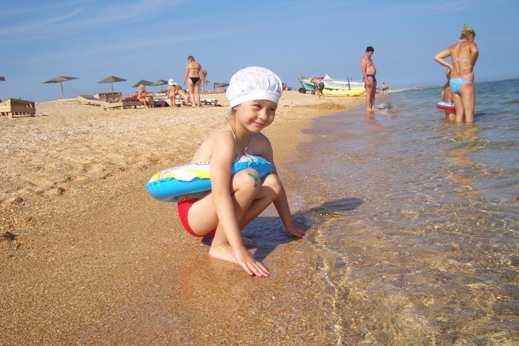 Теплая водичка. Азовское море.. Привет из отпуска!