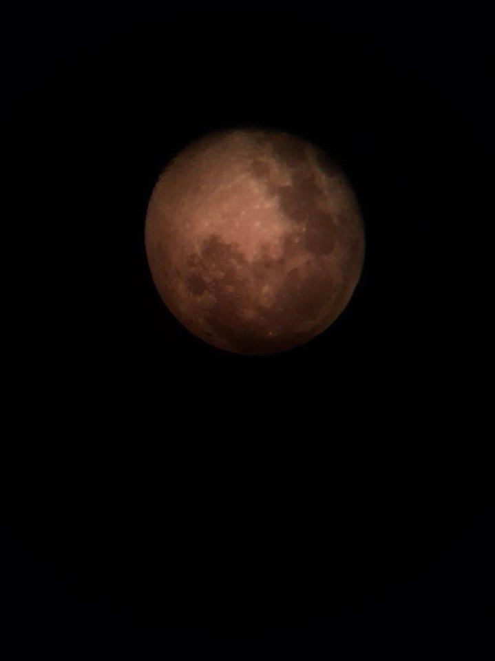 Через телескоп. Блиц: луна