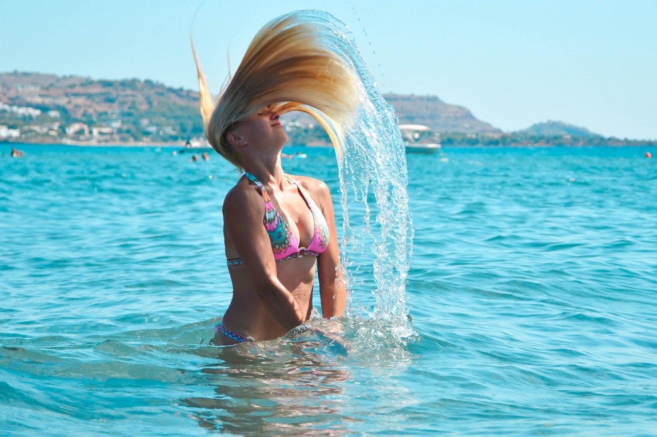 Танцы на воде. Привет из отпуска!