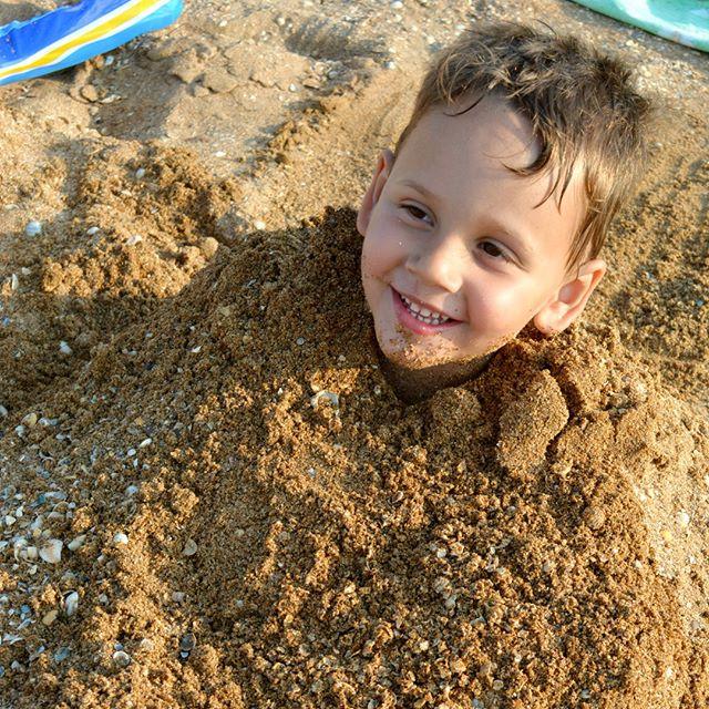 Песочный человечек . Привет из отпуска!