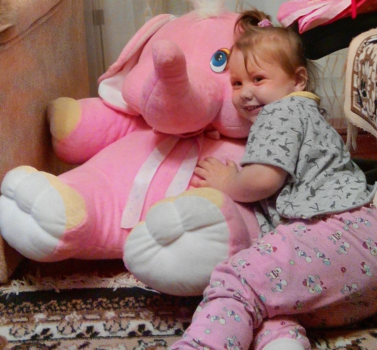 Наш друг - Розовый слон!. Читаем и играем