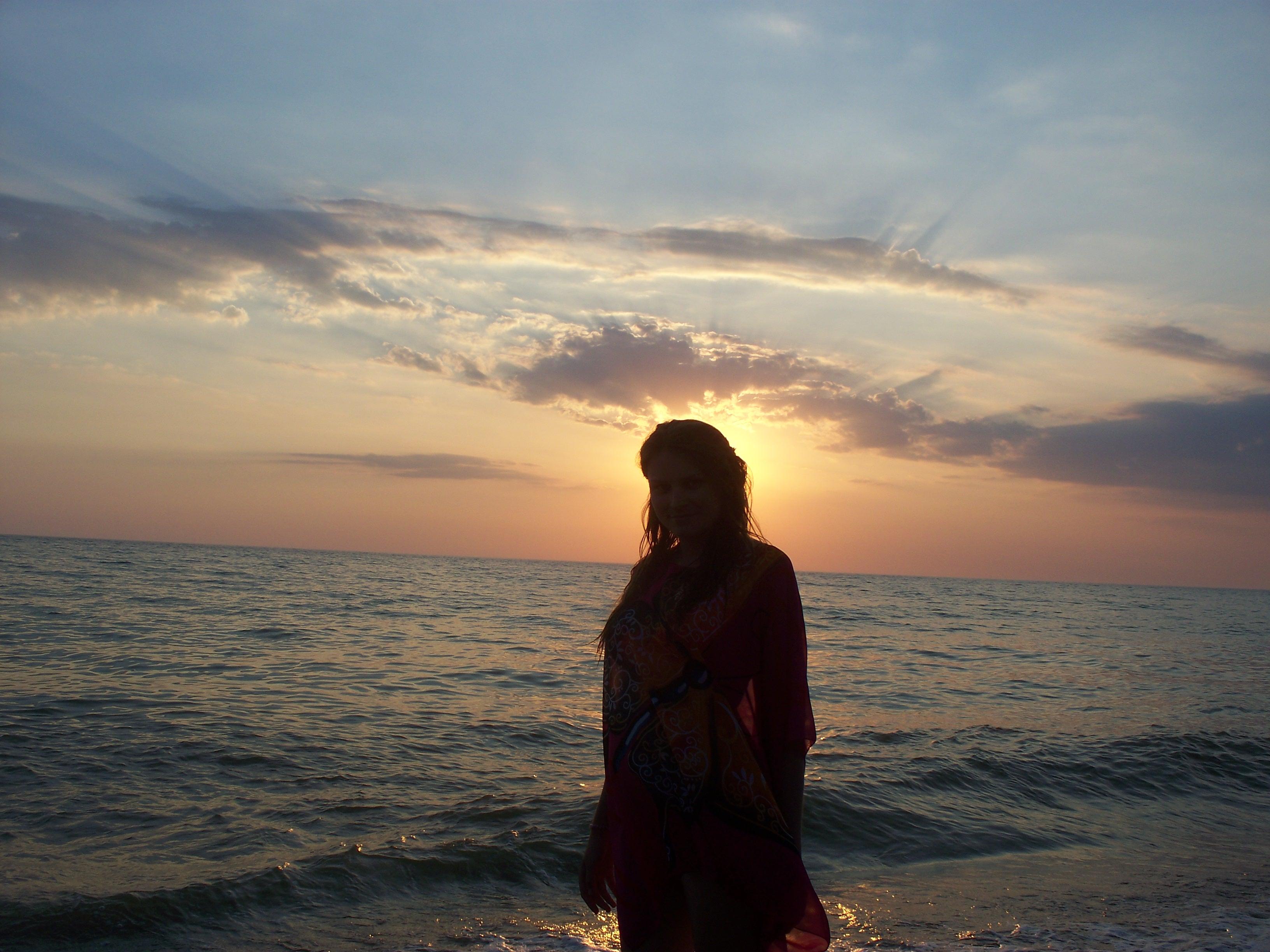 Чёрное море. Крым. Бахчисарай. 'На закате'. Привет из отпуска!
