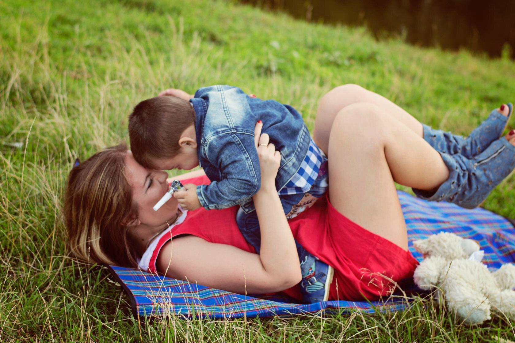 Счастье где дети. Летнее настроение