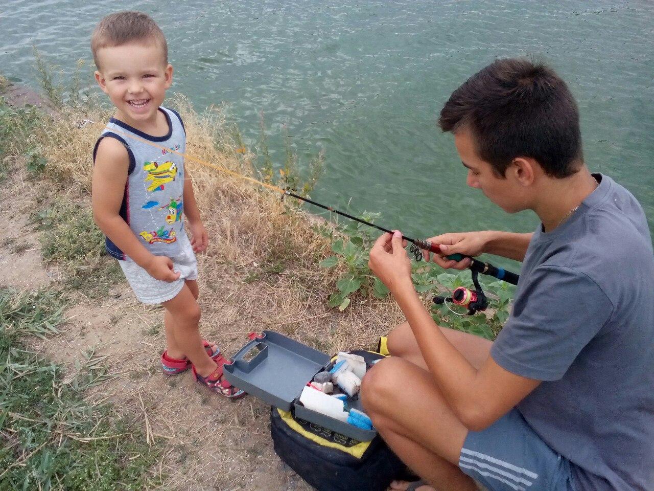 На рыбалочке. Привет из отпуска!