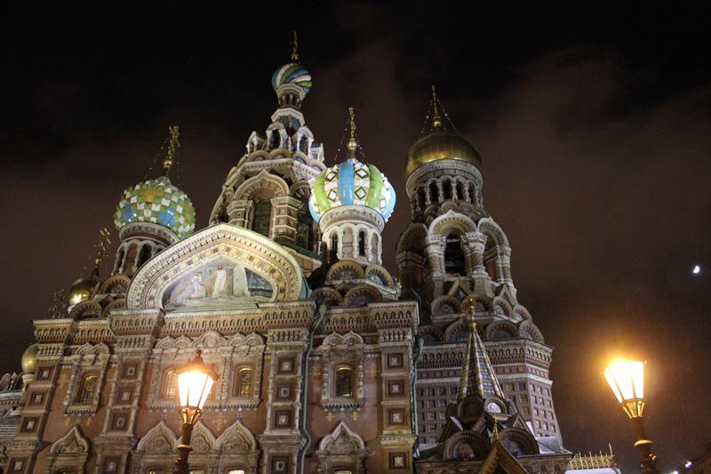 Ночь накануне Рождества. Блиц: Санкт-Петербург