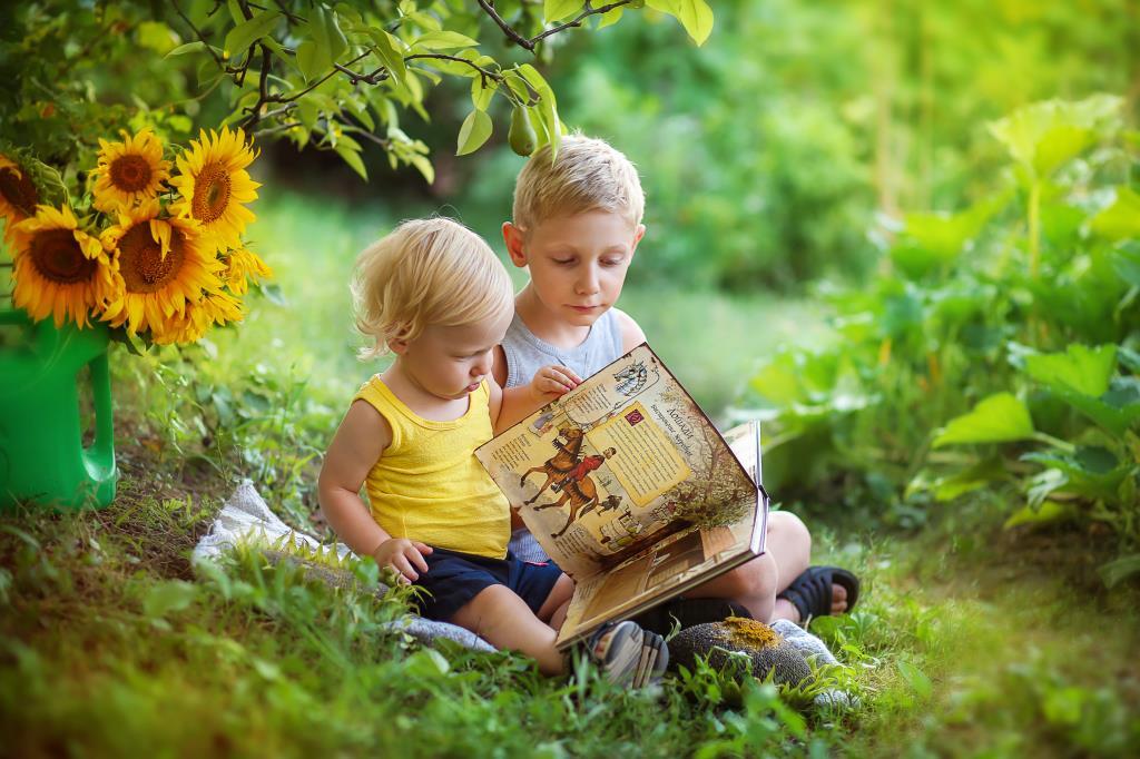 Маленькие рыцари))). Читаем и играем