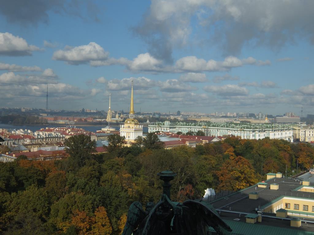 Одно из самых любимых мест СПб - колоннада Исакия. Блиц: Санкт-Петербург