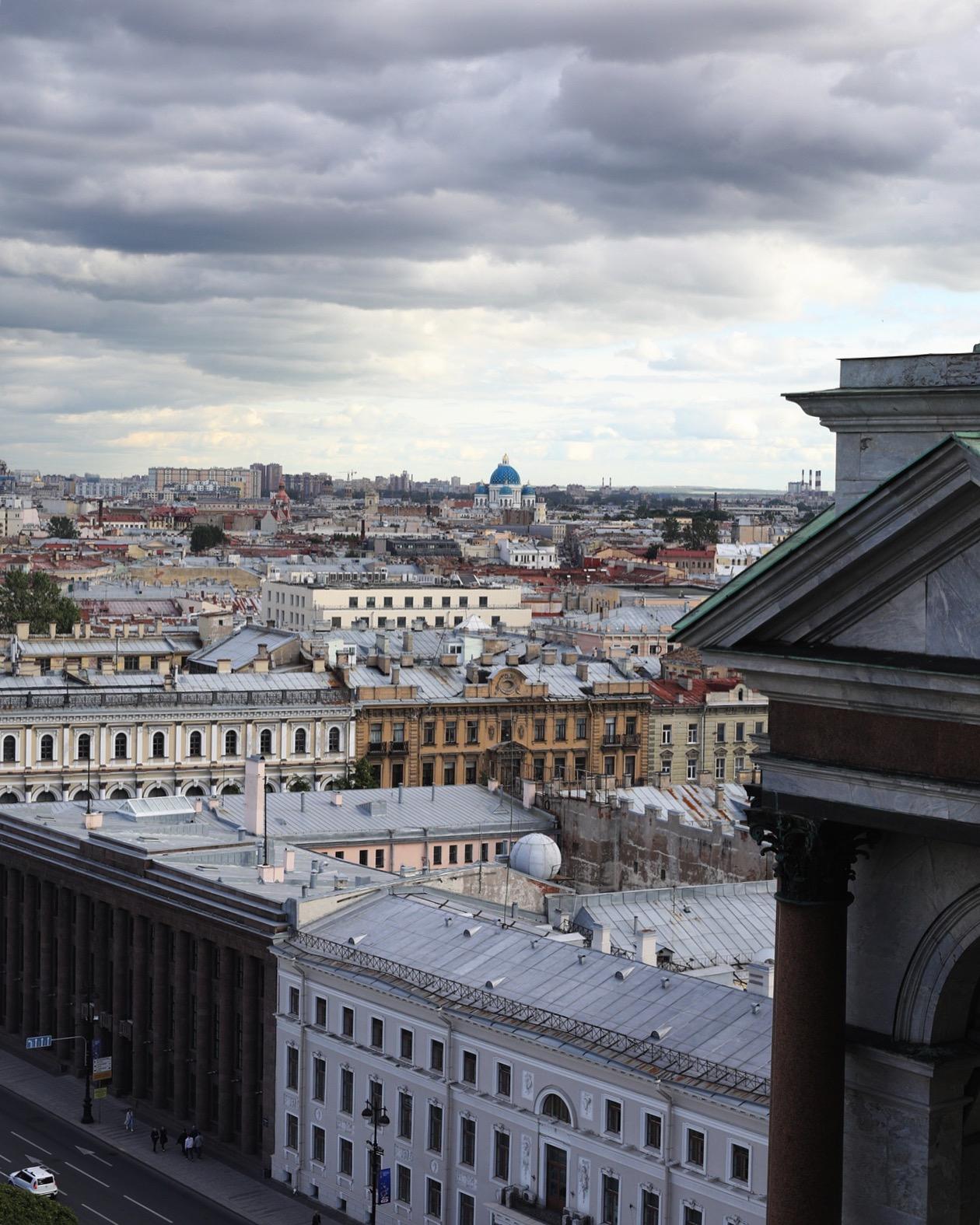 Питер, как на ладони... . Блиц: Санкт-Петербург