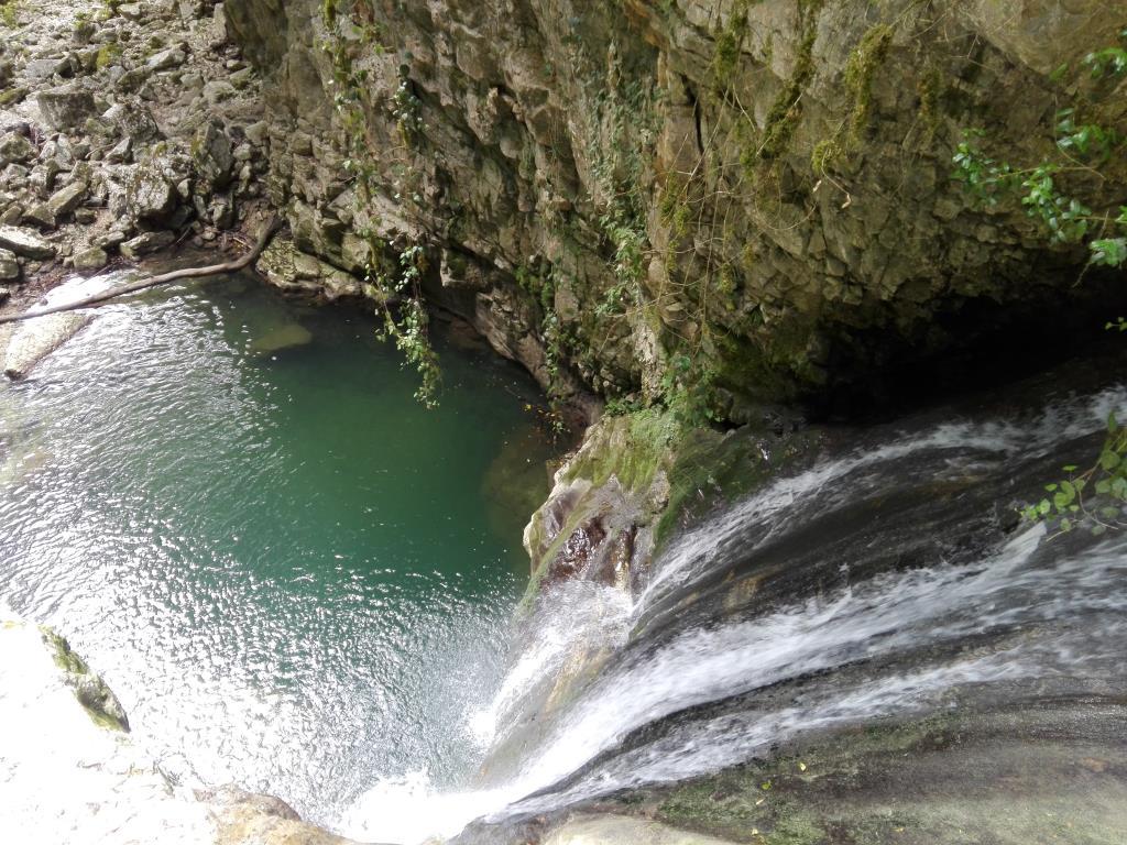 Ольгинские водопады. Абхазия. Блиц: с высоты