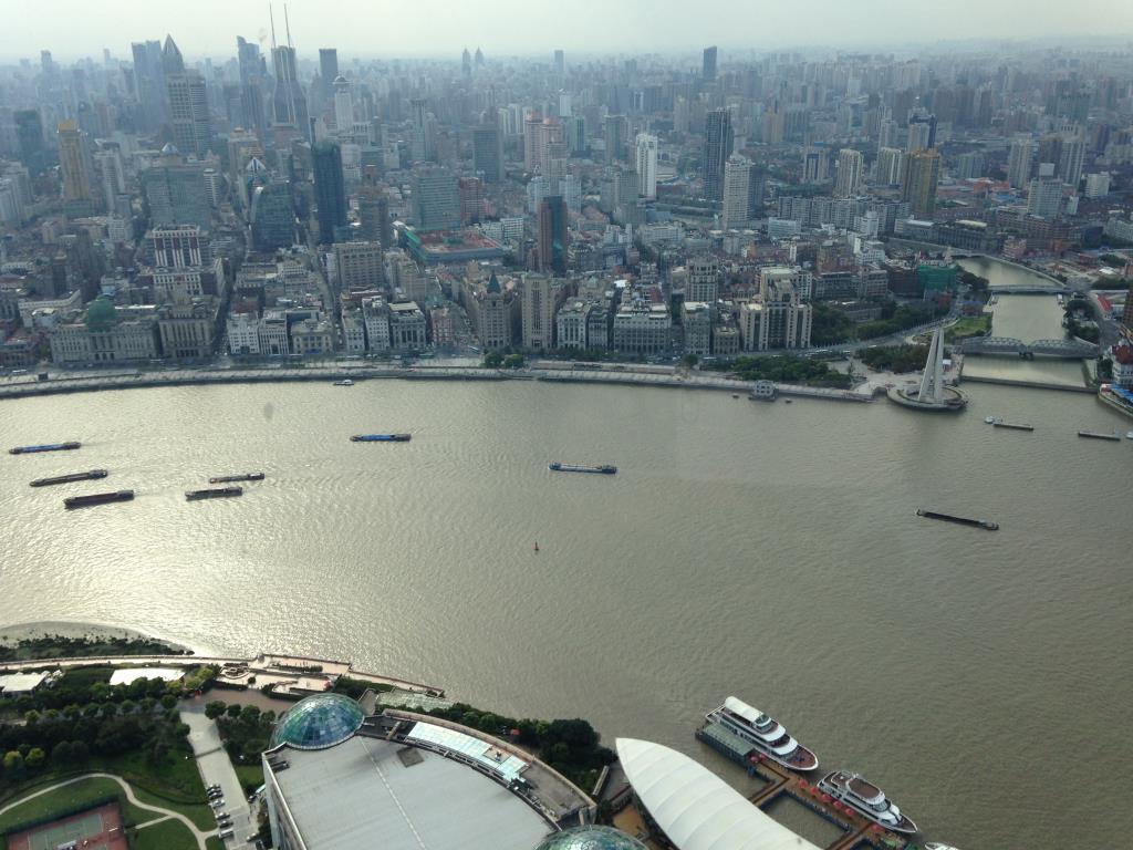 Шанхай. Блиц: с высоты