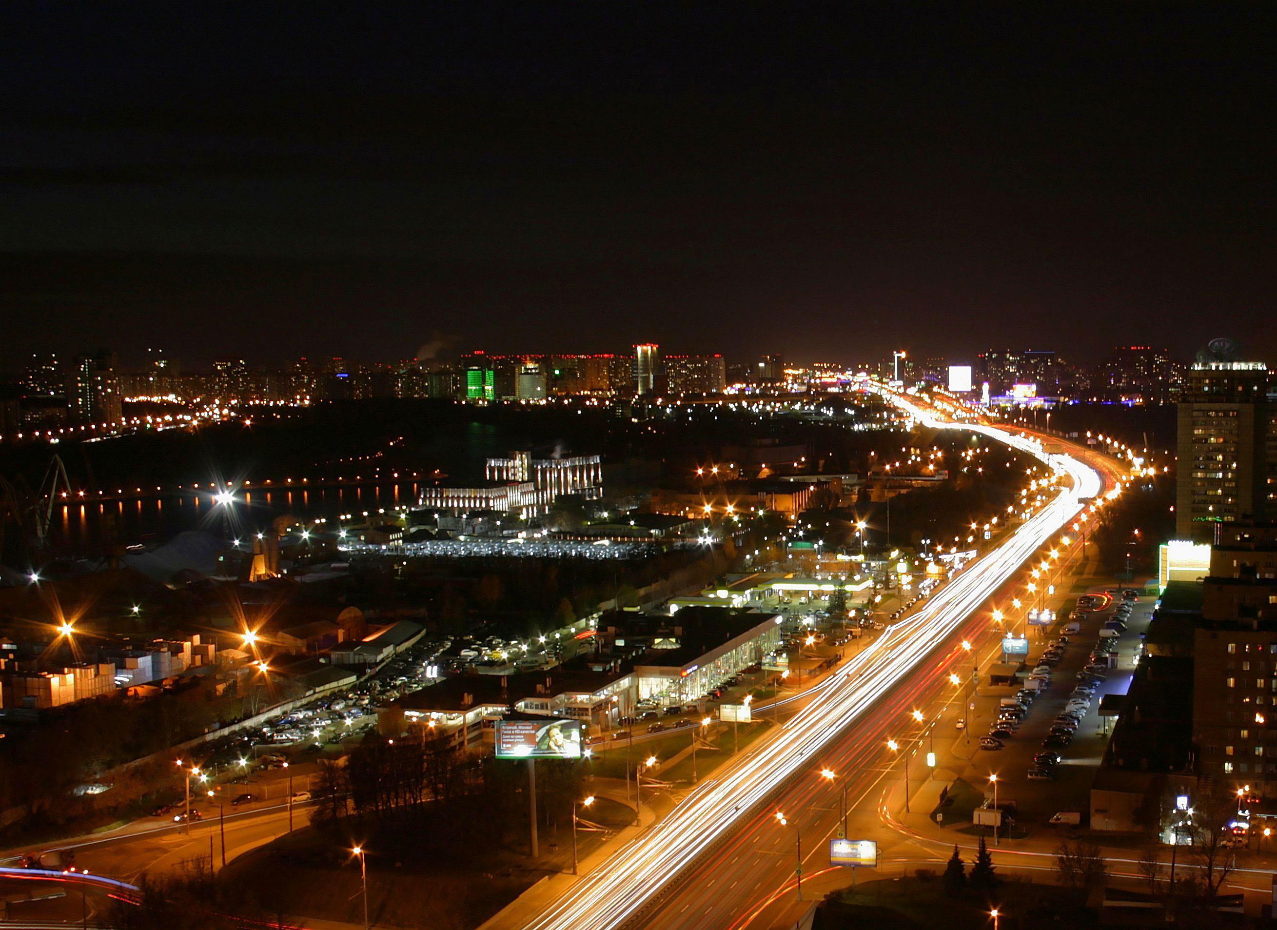 Ленинградское шоссе. Блиц: с высоты