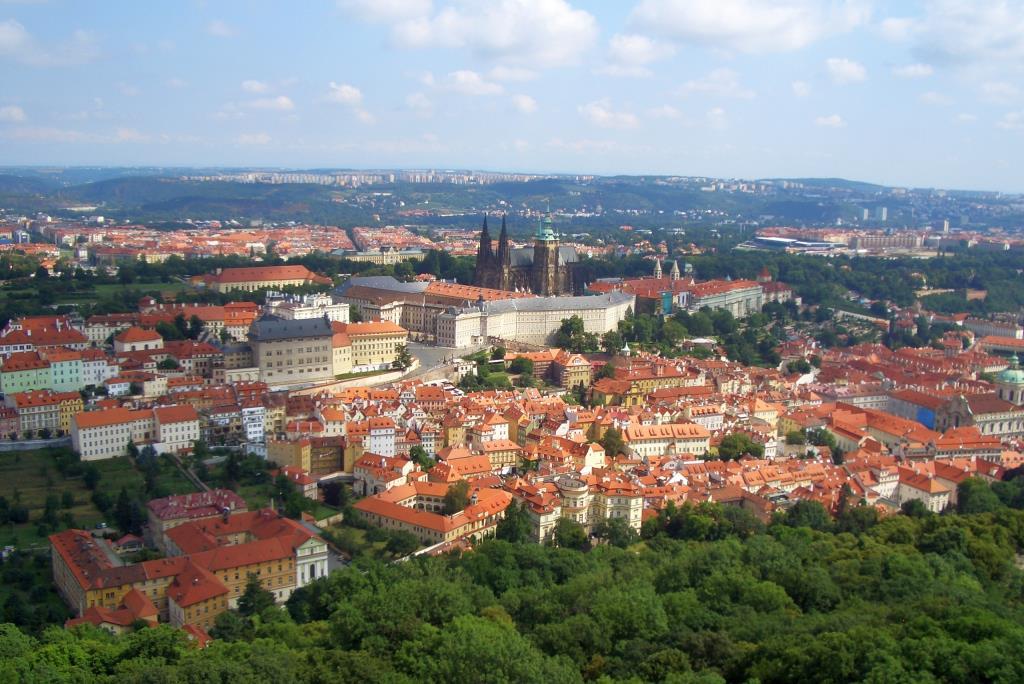 Крыши Праги. Блиц: с высоты