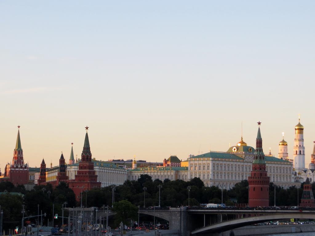 Москва. Кремль.. Блиц: с высоты