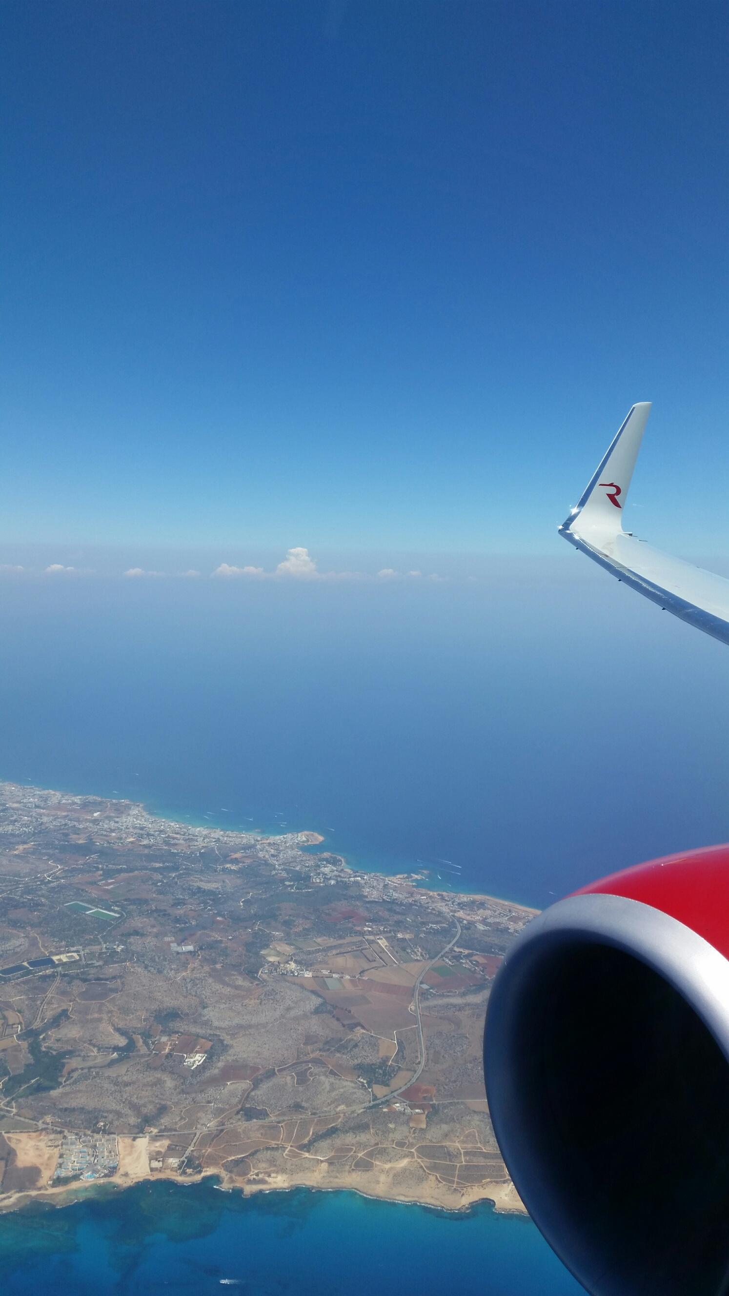 Под крылом самолёта .... Блиц: с высоты