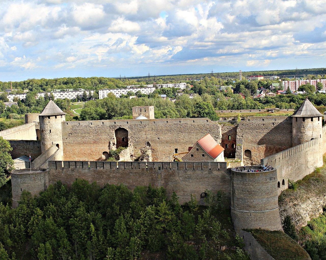 Иваногородская  крепость. Блиц: с высоты