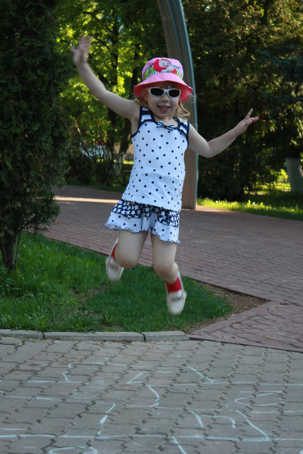 Ура! Я лечу!)). Совершенно летние!