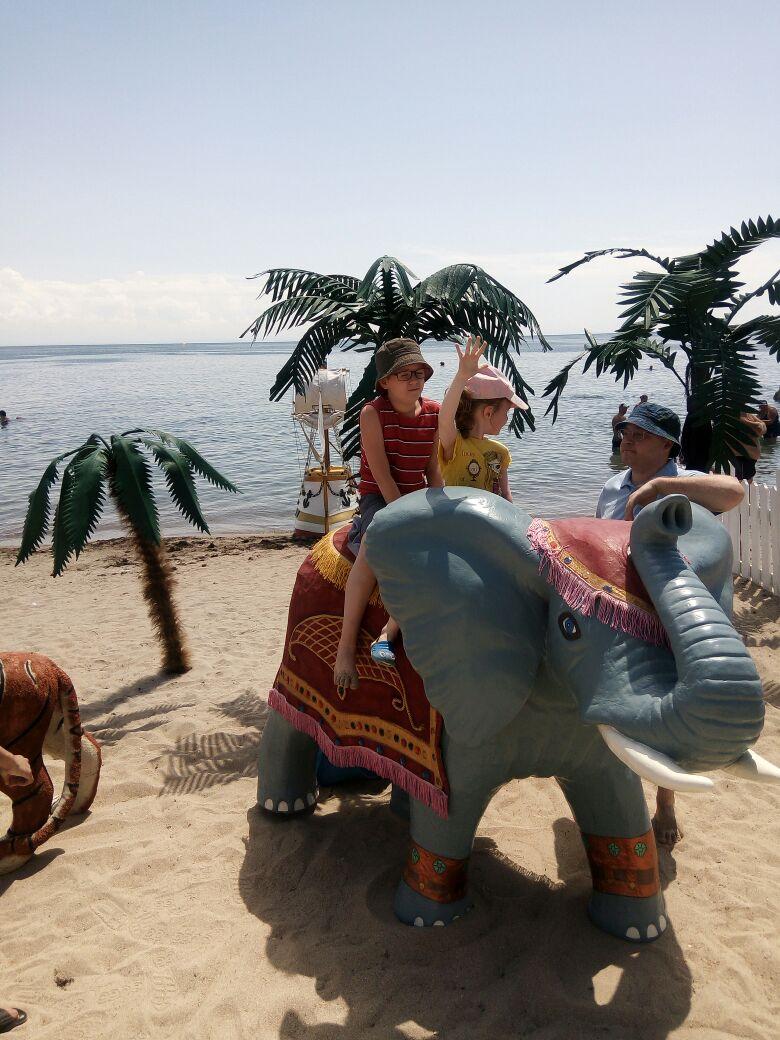 Покоряем слоника. Совершенно летние!