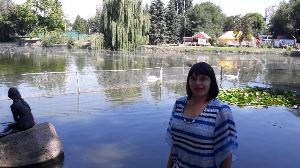 г. Саратов, городской парк. Совершенно летние!