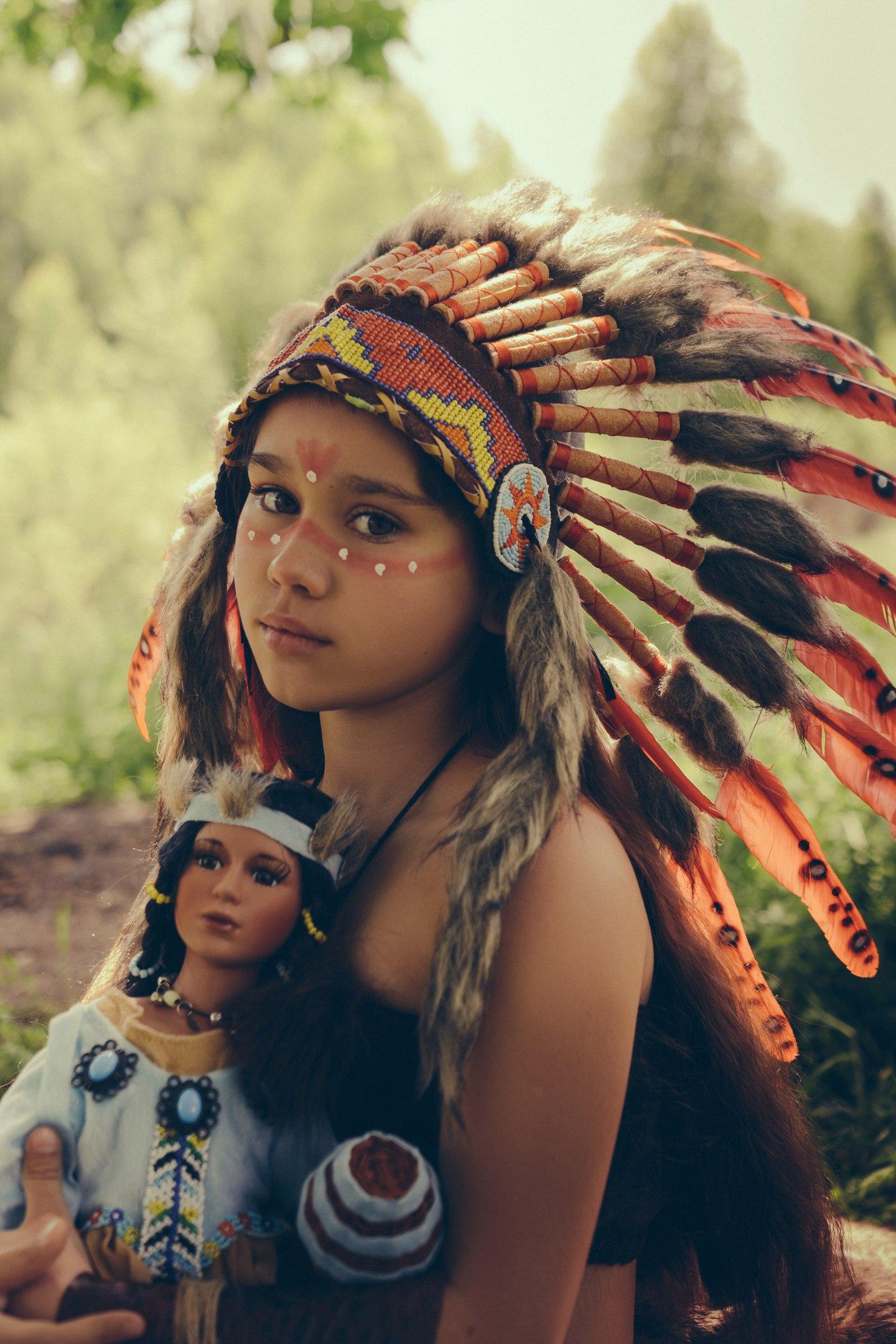 Играем в индейцев. Читаем и играем