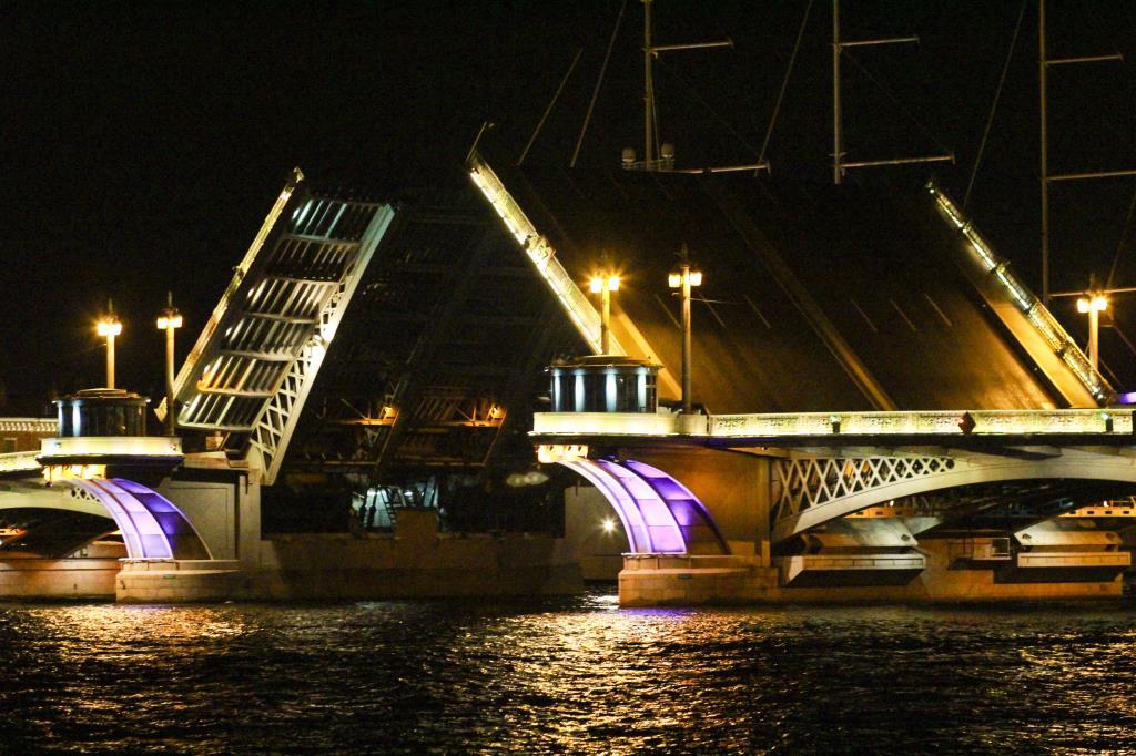 Ночной Питер!!!Ночные мосты!. Блиц: Санкт-Петербург