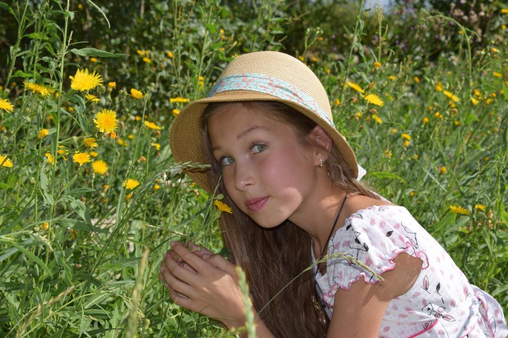 Моя доченька. Совершенно летние!