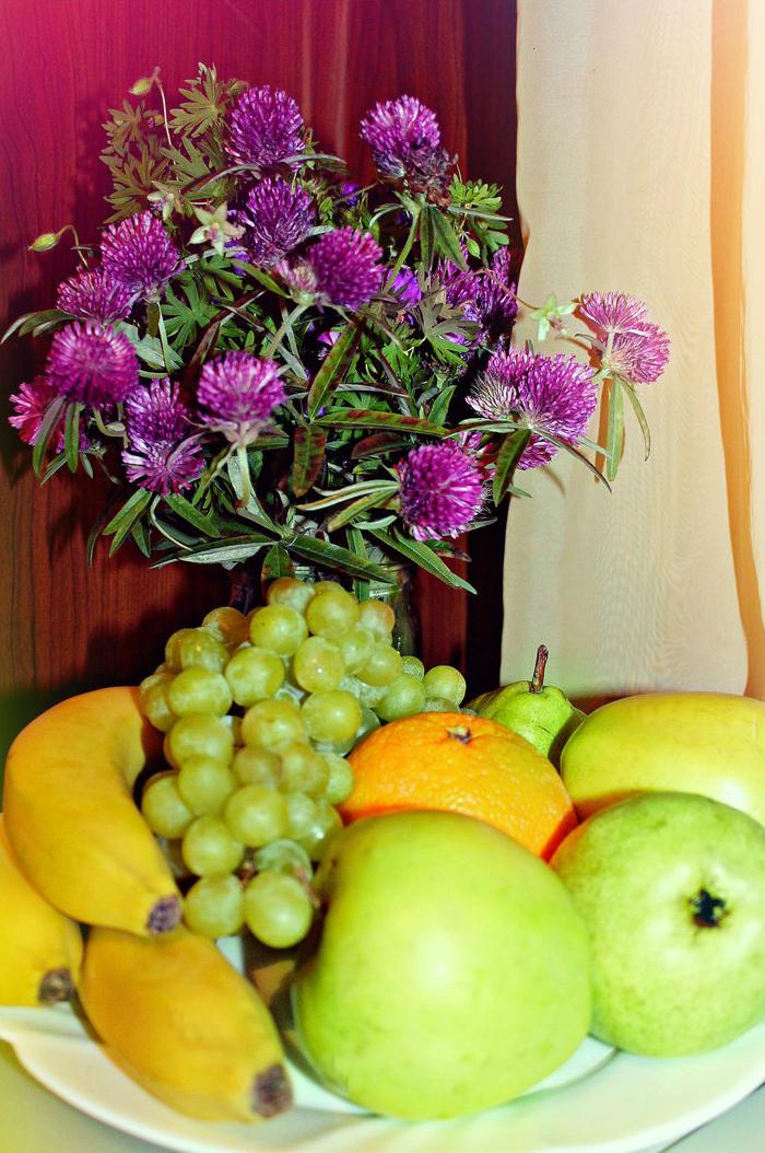 Зайдете в гости на фруктовую тарелку?. Блиц: натюрморт