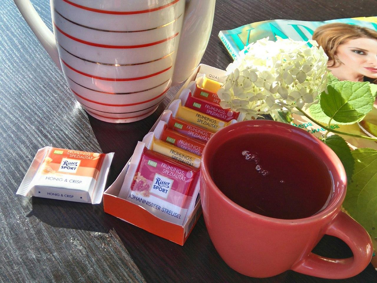 Дачное чаепитие. Блиц: натюрморт