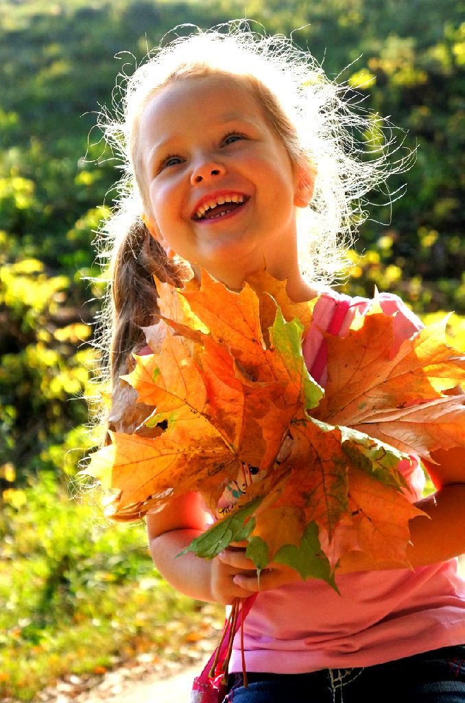 теплая осень. Краски осени