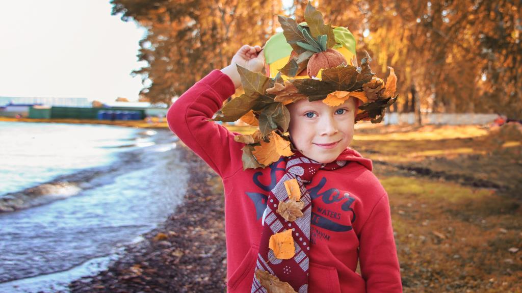 Шляпа красавицы осени.. Краски осени