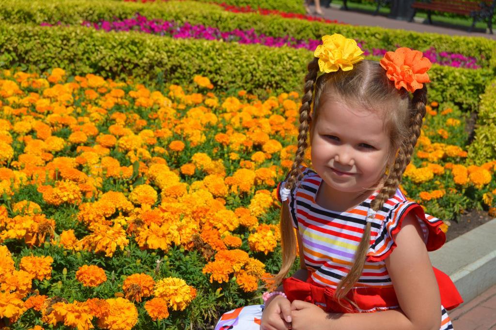 Цветочек в цветочках!. Совершенно летние!