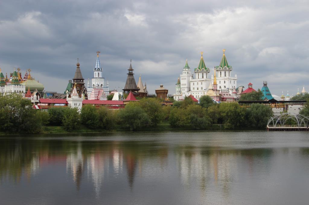 Измайловский кремль!. Блиц: Москва