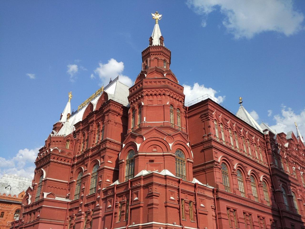 Архитектурная красота Москвы ))). Блиц: Москва