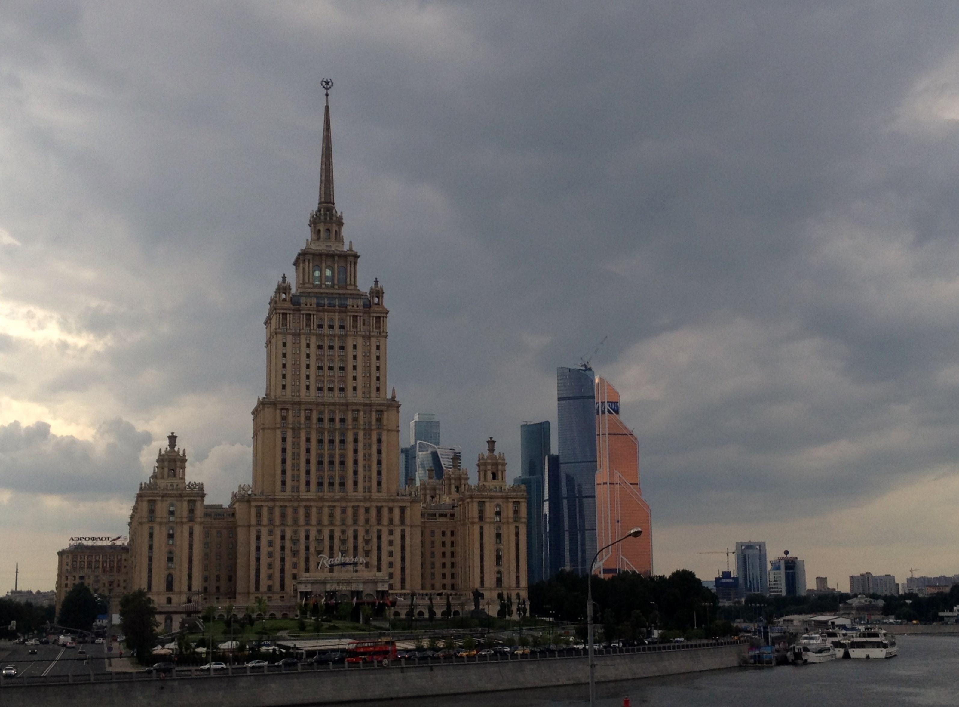 контрасты.... Блиц: Москва