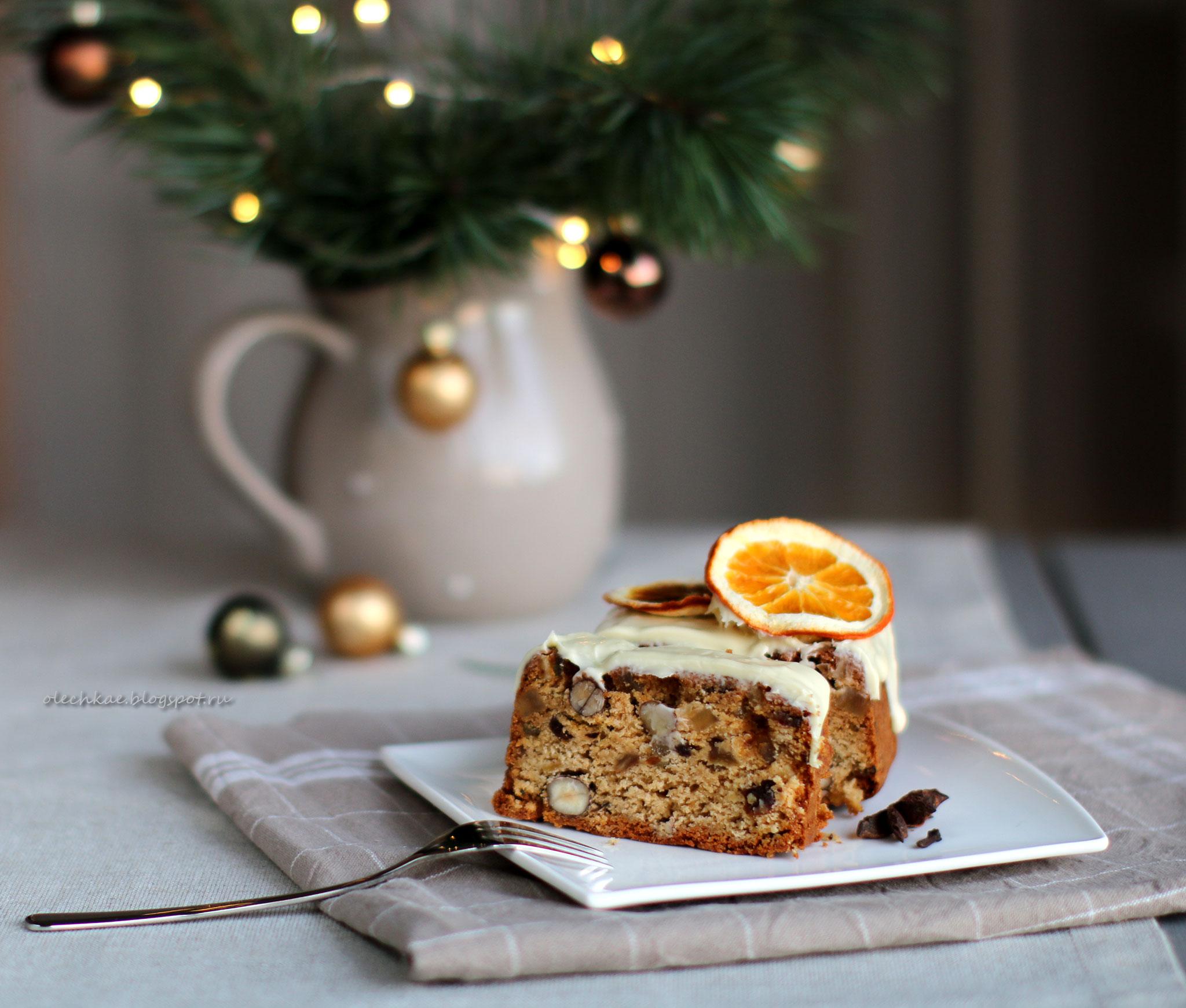 Кекс рождественский английский фото