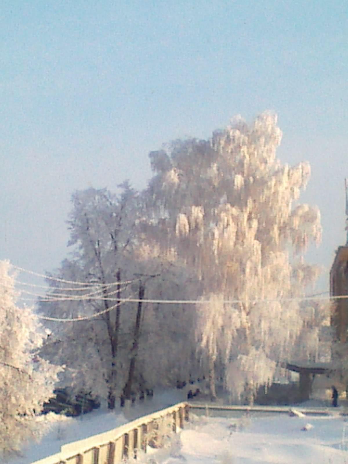 Мордовская зима. Блиц: снежная зима