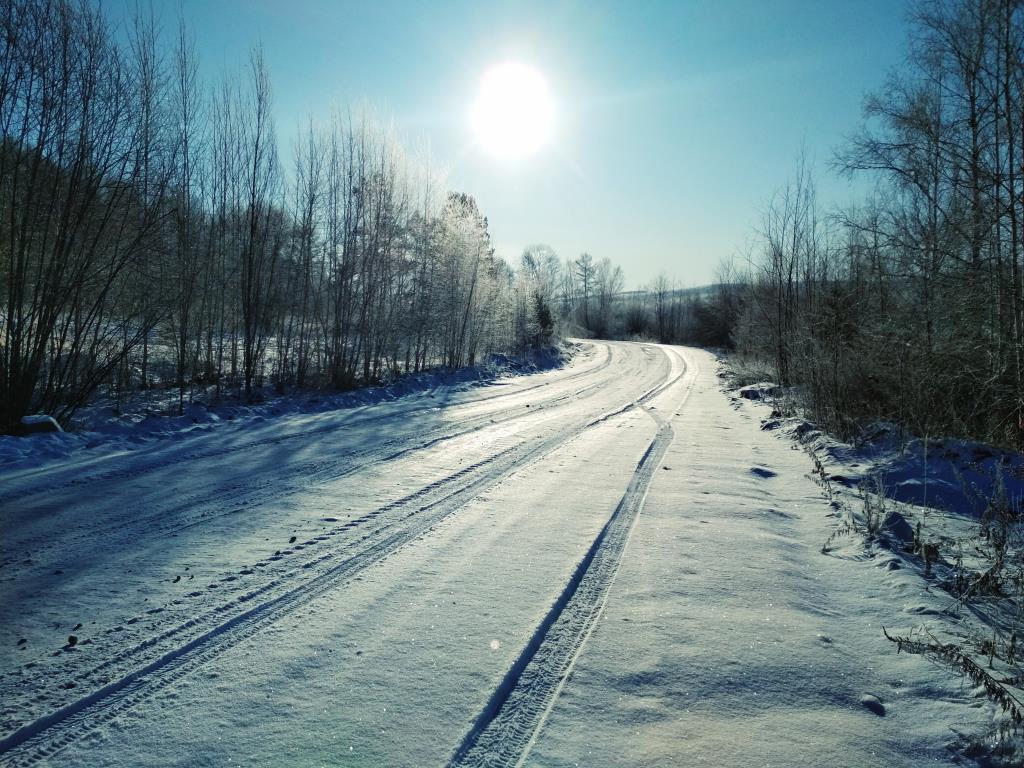 Начало зимы. Блиц: снежная зима