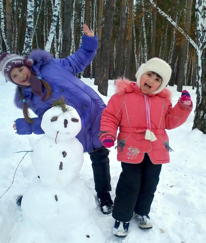Наши зимние забавы. Зимние забавы